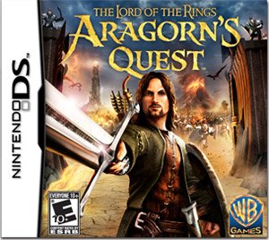 New Lord of the Rings: Aragorn's Quest (Nintendo DS) Action
