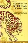 Sources of Korean Tradition: Volume O...
