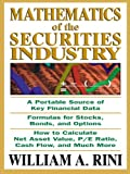 Mathematics of the Securities Industry
