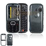 51HlLhIRhAL. SL160  Carbon Fiber Design Snap On Cover Hard Case Cell Phone Protector for LG Rumor2 LX265 / Cosmos VN250 [Beyond Cell Packaging]
