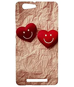 GOON SHOPPING HIGH QUALITY PRIENTED BACK CACE COVER FOR GIONEE MARATHON M5 LITE MULTI-29