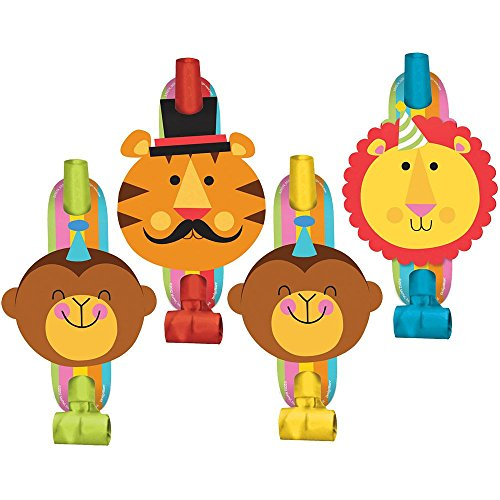 Fisher Price 1st Birthday Circus Blowouts / Favors (8ct)