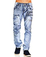 Herren Jeans Moscow Citylight ID619 Straight Fit (Gerades Bein)