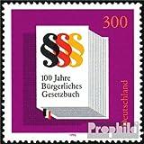 sellos para coleccionistas: RFA (RFA.Alemania) 1874 (completa.edición.) sobres primer día 1996 100 años. Civil...