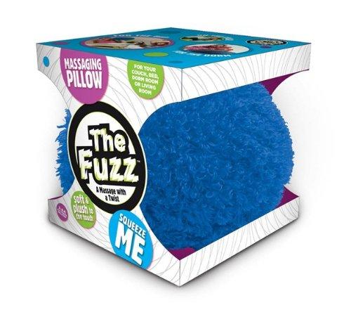 Sunbeam The Fuzz Massaging Pillow, Blue, Standard