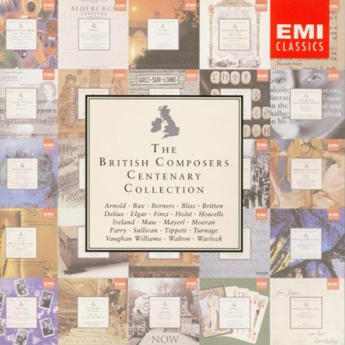 The British Composers' Centenary Collection by Edward Elgar, Billy Mayerl, Benjamin Britten, Herbert Howells and William [composer] Walton