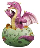 Purple Dragon Hatching Collectible Figurine