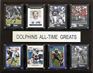 NFL Miami Dolphins All-Time Greats Plaque by C&I Collectables