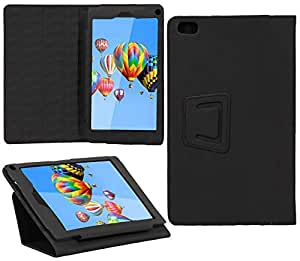 Jkobi (TM) Exclusive Tablet Book Flip Case Cover For Digiflip Pro XT811 -Polish Black