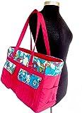 """della Q Isabella Knitting Bag (18"""" W x 11"""" H x 6"""" D) 440-1 from della Q"""