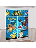Pokemon Pikachu Scene Setters Wall Decorating Kit