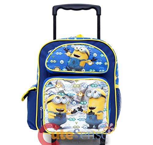 Despicable-Me-Minions-Look-At-You-16-Inches-Rolling-Backpack-36516
