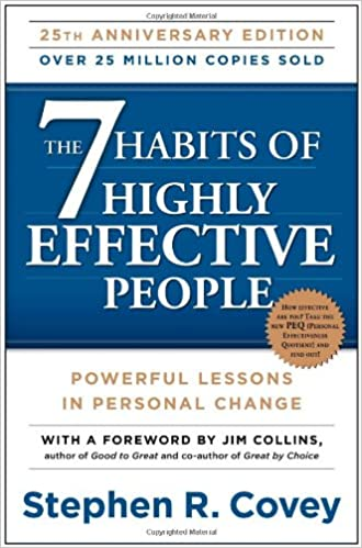 Organize Books: the 7 habits of Highly effective people