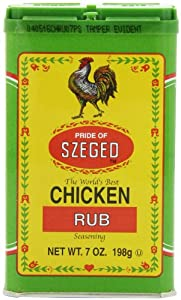 Szeged Chicken Rub in, 7-Ounce Tins (Pack of 6)