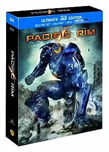 Pacific Rim - ULTIMATE EDITION DVD + BLU-RAY + BLU-RAY 3D [Ultimate Edition - Blu-ray 3D + Blu-ray + DVD + Copie digitale]