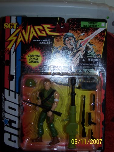 "G.I Joe ""Combat Sgt. Savage"""
