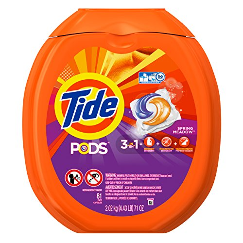 Tide Pods Spring Meadow He Turbo Laundry Detergent Pacs 81 Load
