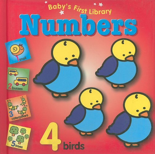 Baby'S First Library Numbers back-902626