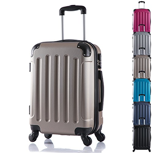 woltu-rk4201ch-hard-shell-lightweight-travel-trolley-bag-hand-luggage-suitcase-champagne-with-2-carr