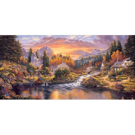 Cheap SunsOut Morning Sunlight 1000pc Jigsaw Puzzle by Derk Hansen (B0034N9JV6)