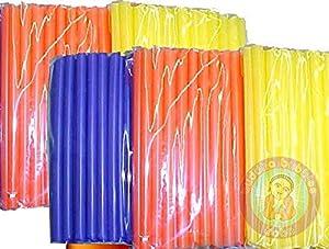 Bag of Fat Bubble Tea Straws - Colors May Vary (~45-50 Straws)