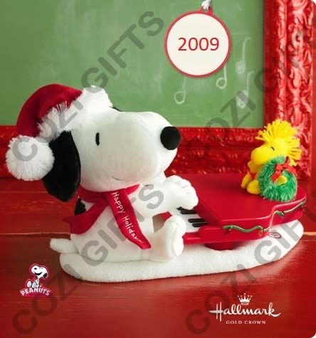 Hallmark Swingin with Snoopy Plush