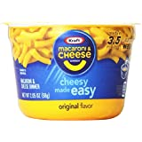 Kraft Easy Mac Cups, 2.05 Ounce 10 count (Pack of 10)