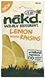 Nakd Wildly Different Lemon Infused Raisins 25 g (Pack of 18)