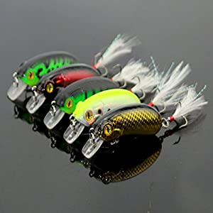 Fishing Lure Baits/Tackle Crankbaits Hooks Minnow Baits