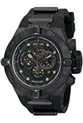 "Invicta Men's 6582 ""Subaqua Noma IV"" Stainless Steel and Black Polyurethane Watch"