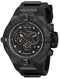 Invicta Men's 6582 Subaqua Noma IV Chronograph Black Polyurethane Watch