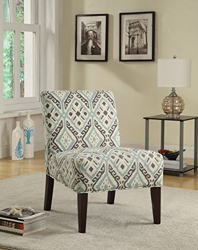 Coaster Home Furnishings Ikat Casual Accent Chair, Expresso/Beige