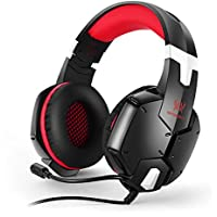 VOXLINK Each G1200 Pro Gaming Headset With Volume Mute Control Red