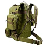 Paratus 3 Day Operators Pack Military Style MOLLE Compatible Tactical Backpack Bug Out Bag