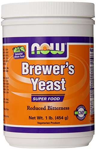 NOW Foods Brewer's Yeast, 1 Pound