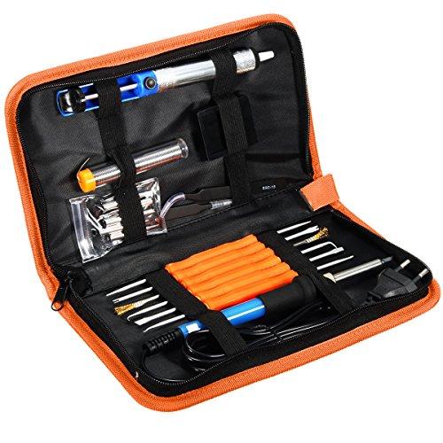 kit-de-soudage-gochange-220v-soldering-iron-electrique-reglable-6-pcs-soudure-avec-pompe-a-dessouder