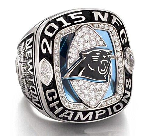 Carolina-Panthers-Cam-Newton-2015-NFC-Championship-Ring-Replica-Rare-Panthers-Football-Team-Memorabilia-Size-11-Mens-Shipped-from-USA