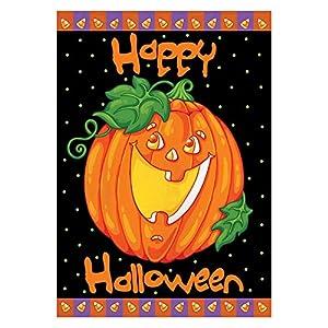 Toland Home Garden Happy Halloween Flag 119268 from Toland Home & Garden