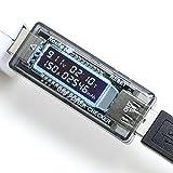 ルートアール  QC2.0対応  簡易電圧・電流チェッカー 積算電流・通電時間計測 RT-USBVATM2QC