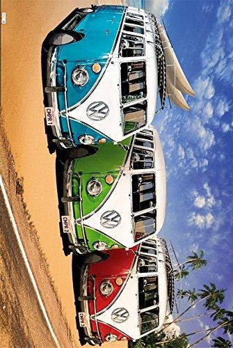 GB eye LTD, VW Camper, Campers Beach, Maxi Poster, 61 x 91,5 cm