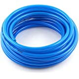 8mm(OD) X 5mm(ID) PU Air Tubing Pipe Hose 10 Meter Blue 10M