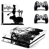 Adventure Games - PS4 ORIGINAL - Kingdom Hearts 3 - Playstation 4 Vinyl Console Skin Decal Sticker + 2 Controller Skins Set (Tamaño: PS ORIGINAL)