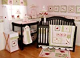Lady Bug 6-Piece Baby Crib Bedding Set