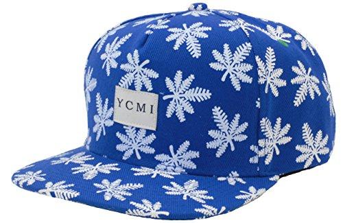 YCMI-Adjustable-Marijuana-Weed-Leaf-Snapback-Cap-Hat-for-Men-Baseball-Cap