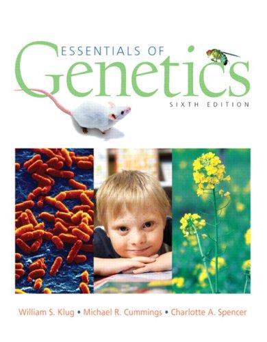 Essentials of Genetics (6th Edition)
