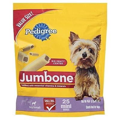 Pedigree Jumbone Mini Bones - L 25 ct TRG