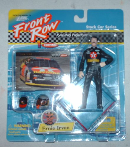 Ernie Irvan Front Row Racing Figurine - Stock Car Series First Edition by Playing Mantis