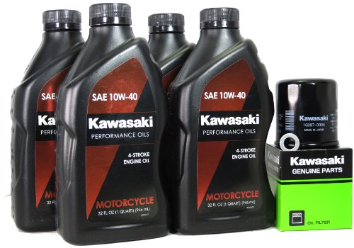 2007 Kawasaki VULCAN 900 CLASSIC LT Oil Change Kit (Vulcan 900 Engine compare prices)