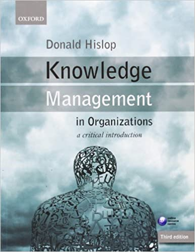 an introduction to the analysis of organizational knowledge