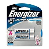 ENERGIZER E2 LITHIUM L91BP-2 LITHIUM PHOTO BATTERIES (AA; 2 PK)